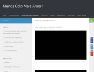 menosodiomaisamor.com.br screenshot