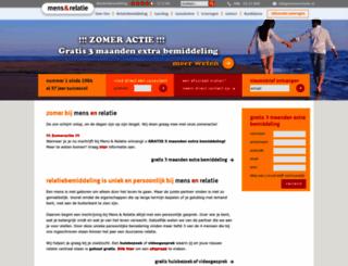 mens-en-relatie.nl screenshot