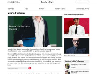 mens-fashion.lovetoknow.com screenshot