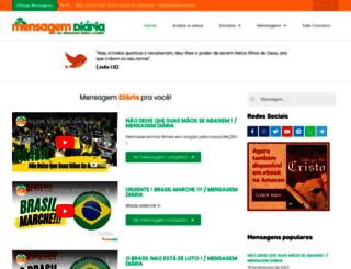 mensagemdiaria.com.br screenshot