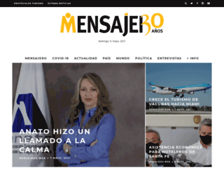 mensajeroweb.com.ar screenshot