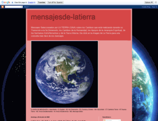 mensajesde-latierra.blogspot.mx screenshot