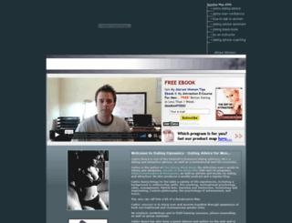 mensdatingadvice.com screenshot