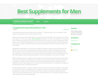 mensupplementfacts.weebly.com screenshot
