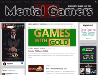 mentalgamers.com screenshot
