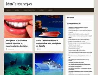 mentendencias.com screenshot