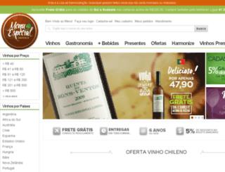 menuespecial.com.br screenshot