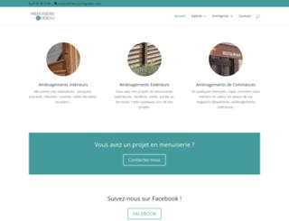 menuiseriegodeau.com screenshot
