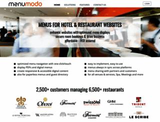 menumodo.com screenshot