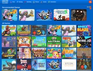 meow-games.com screenshot