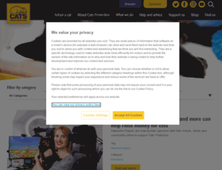 meowblog.cats.org.uk screenshot