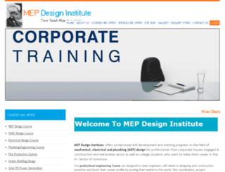 mepdesigninstitute.com screenshot