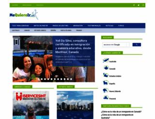 mequieroir.com screenshot
