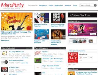 meraparty.com screenshot
