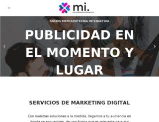 mercadotecniainteractiva.com screenshot