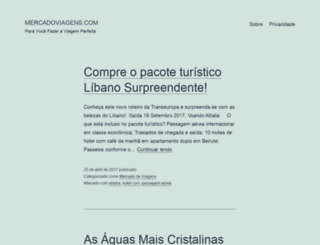 mercadoviagens.com screenshot