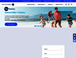 mercantilandina.com.ar screenshot