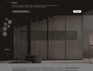 mercantini.it screenshot
