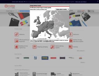 mercateo.co.uk screenshot