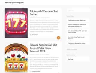mercator-publishing.com screenshot