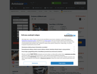 mercedes-e-trieda.autobazar.sk screenshot