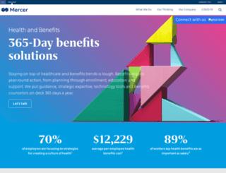 mercermarketplace.com screenshot