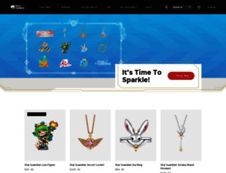 merch.riotgames.com screenshot