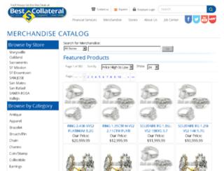 merchandise.bestcollateral.com screenshot