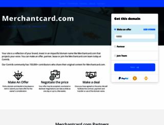 merchantcard.com screenshot