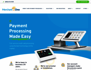 merchantone.com screenshot