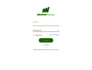 merchants.groupon.nl screenshot