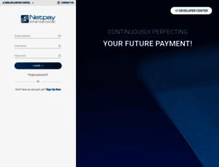 merchants.netpay-intl.com screenshot