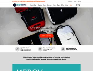 merchology.com screenshot