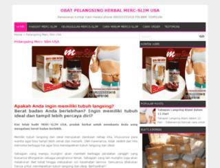 mercslim.com screenshot