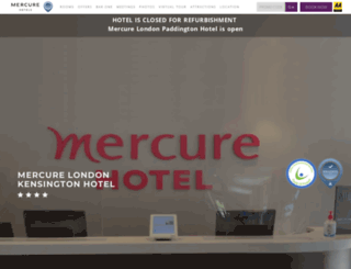 mercurekensington.com screenshot