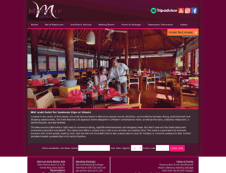 mercurekutabali.com screenshot