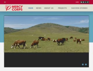 mercycorps.org.mn screenshot