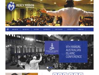 mercymission.org.au screenshot