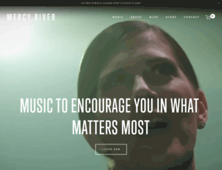 mercyrivermusic.com screenshot