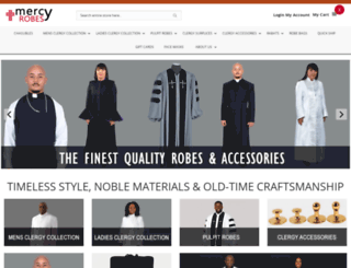 mercyrobes.com screenshot