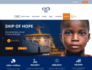 mercyships.org.nz screenshot