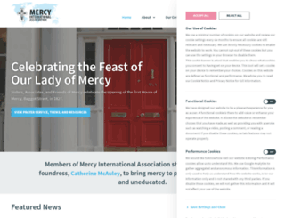mercyworld.org screenshot