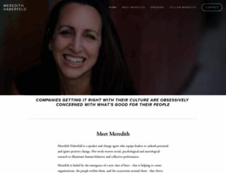 meredithhaberfeld.com screenshot