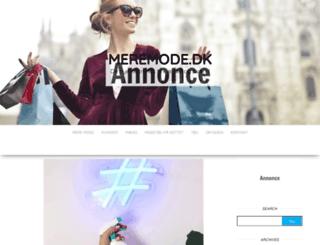 meremode.dk screenshot
