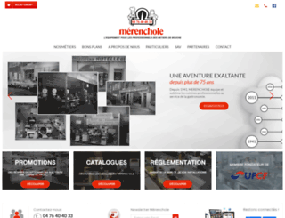 merenchole.fr screenshot