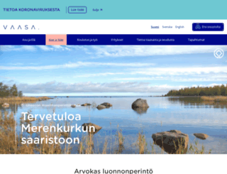 merenkurkku.fi screenshot