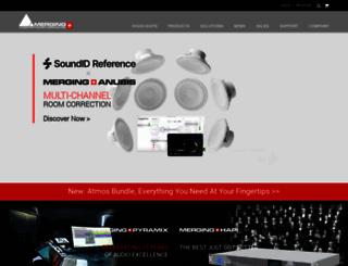 merging.com screenshot
