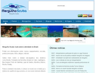mergulhobrazil.com.br screenshot
