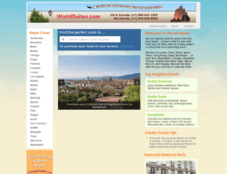 meridasuites.com screenshot