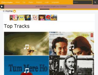 meriplaylist.in screenshot